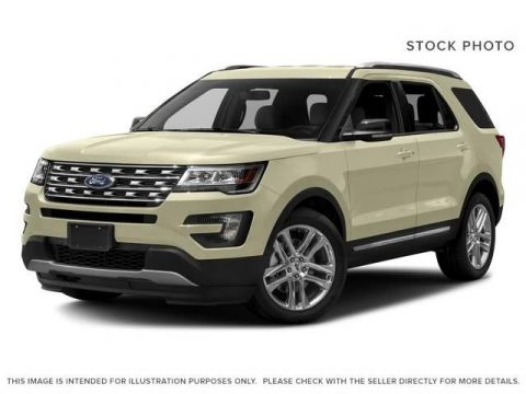New 2017 Ford Explorer XLT 4WD Four Wheel Drive 4 Door Sport Utility