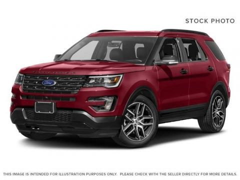 New 2017 Ford Explorer Sport Four Wheel Drive 4 Door Sport Utility