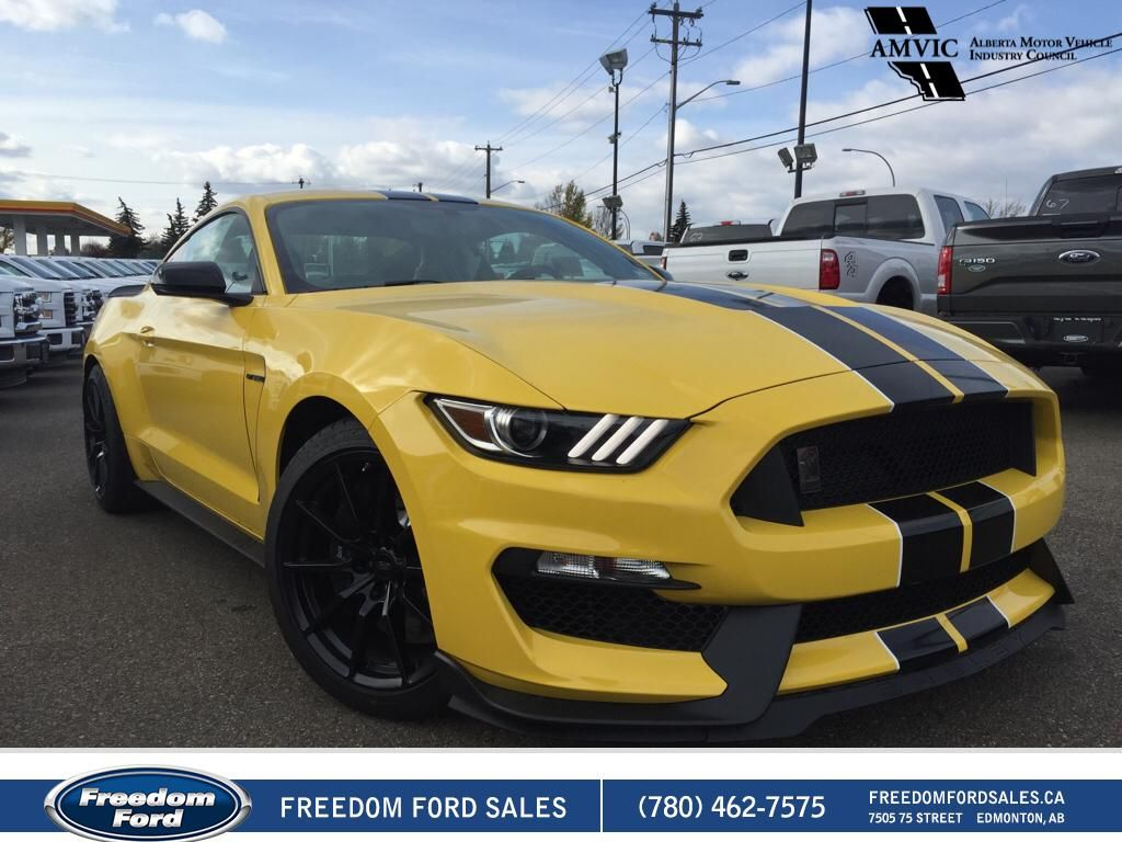new 2017 ford mustang shelby gt350 2 door car in edmonton 17mu1186 freedom ford. Black Bedroom Furniture Sets. Home Design Ideas