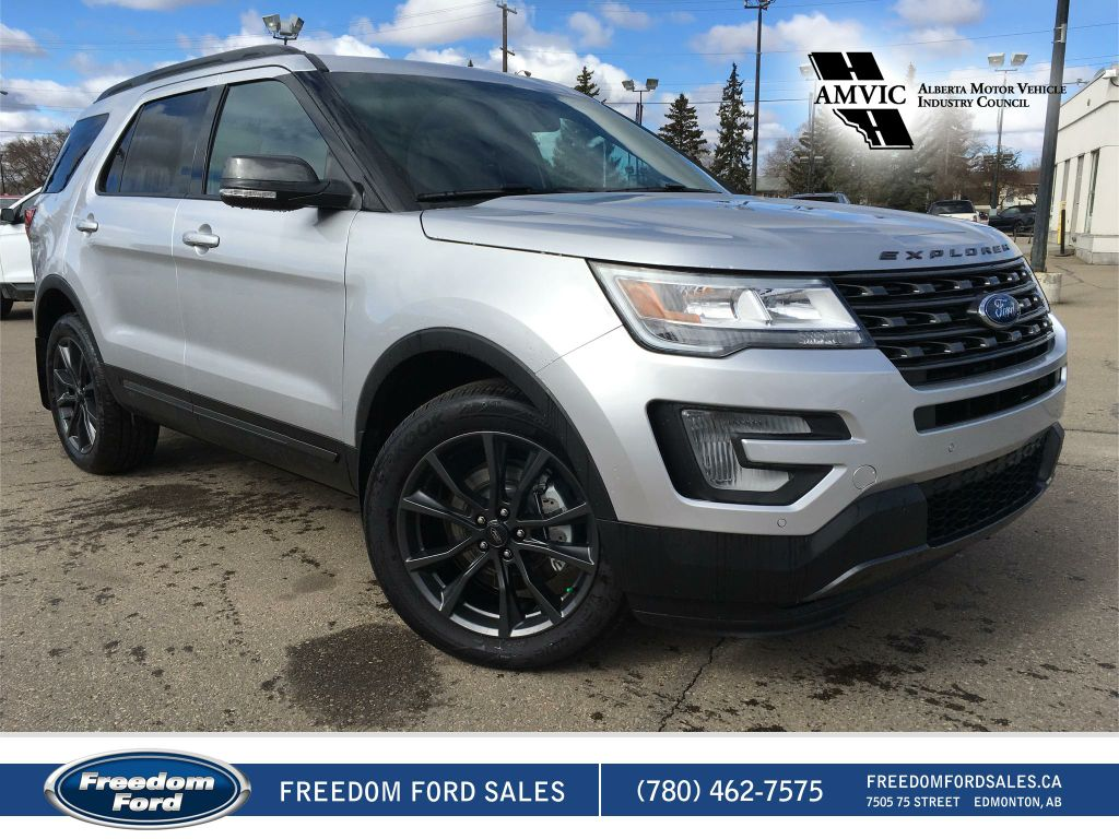 new 2017 ford explorer xlt 4 door sport utility in edmonton 17ex4990 freedom ford. Black Bedroom Furniture Sets. Home Design Ideas
