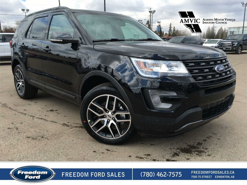 new 2017 ford explorer xlt 4 door sport utility in edmonton 17ex4013 freedom ford. Black Bedroom Furniture Sets. Home Design Ideas