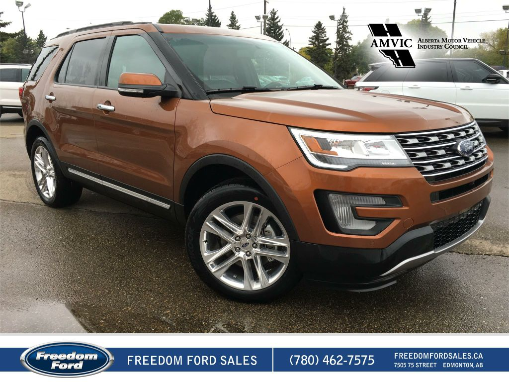 new 2017 ford explorer limited 4 door sport utility in edmonton 17ex3647 freedom ford. Black Bedroom Furniture Sets. Home Design Ideas