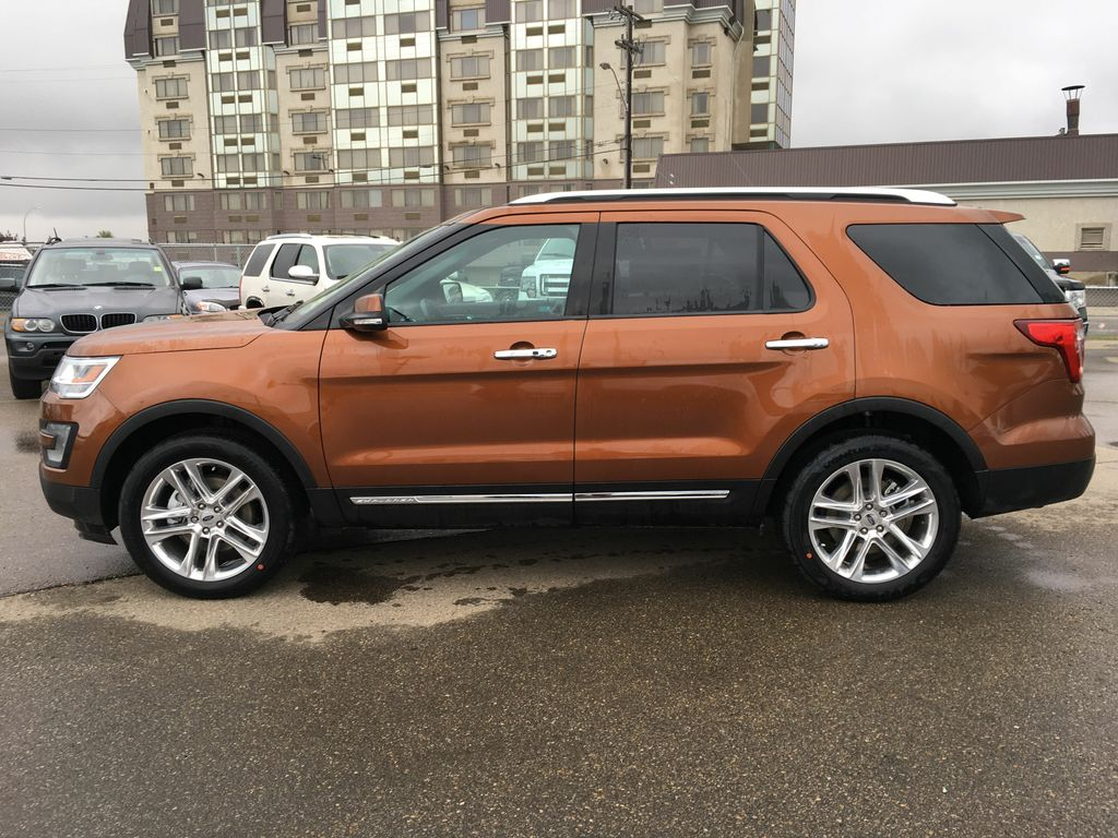 New 2017 Ford Explorer Limited 4 Door Sport Utility In