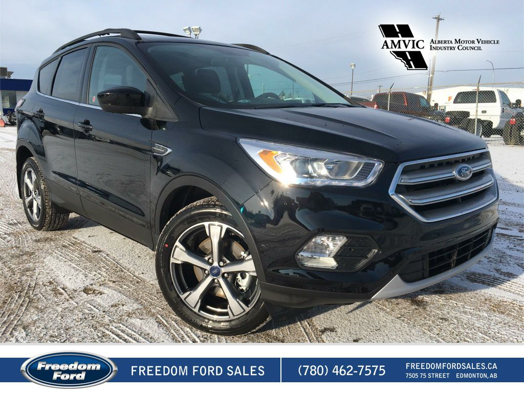 new 2017 ford escape se 4 door sport utility in edmonton 17sc0977 freedom ford. Black Bedroom Furniture Sets. Home Design Ideas