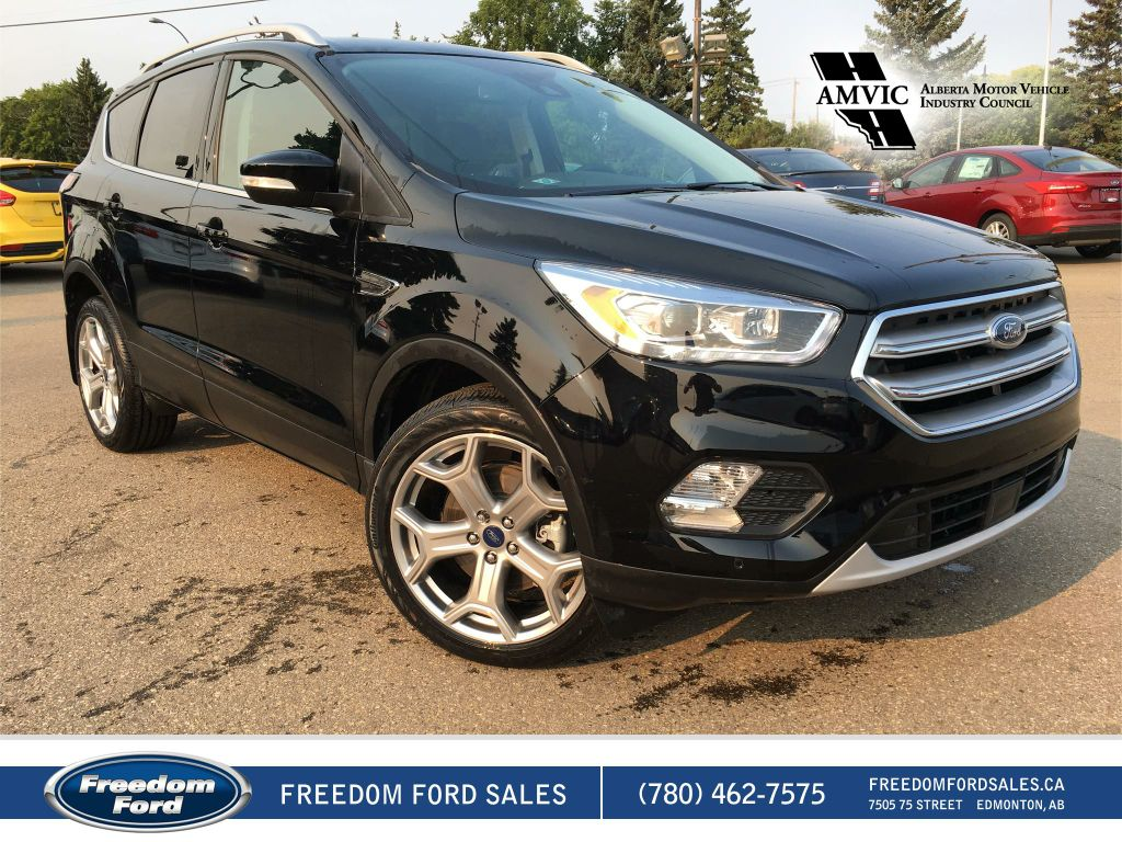 new 2017 ford escape titanium 4 door sport utility in edmonton 17sc4643 freedom ford. Black Bedroom Furniture Sets. Home Design Ideas