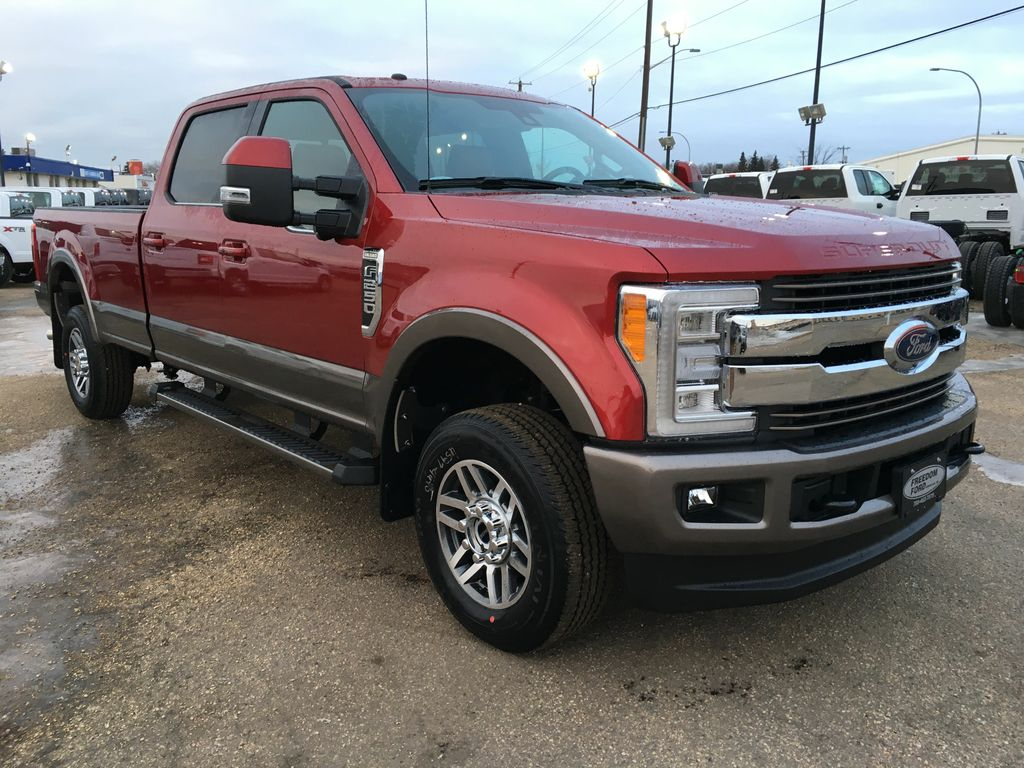 new 2018 ford super duty f 250 srw king ranch 4 door pickup in edmonton 18lt1485 freedom ford. Black Bedroom Furniture Sets. Home Design Ideas