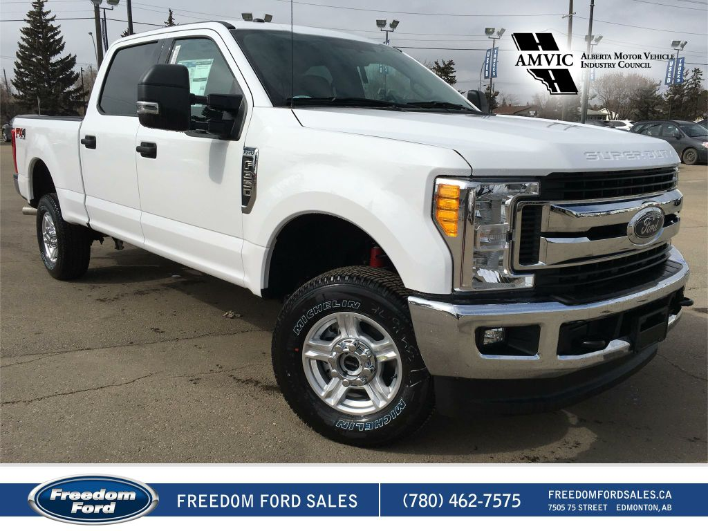 new 2017 ford super duty f 350 srw xlt 4 door pickup in edmonton 17lt9939 freedom ford. Black Bedroom Furniture Sets. Home Design Ideas