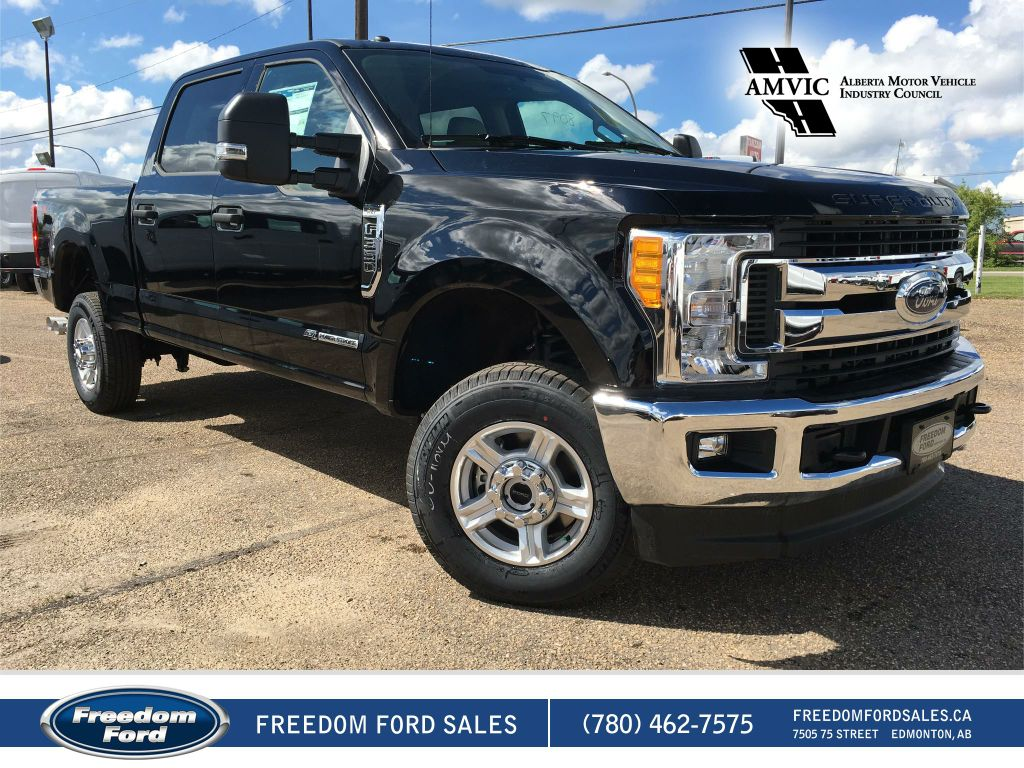 new 2017 ford super duty f 350 srw xlt 4 door pickup in edmonton 17lt8326 freedom ford. Black Bedroom Furniture Sets. Home Design Ideas