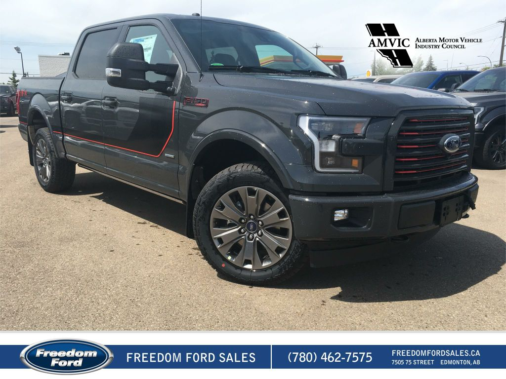 new 2017 ford f 150 lariat 4 door pickup in edmonton 17lt9743 freedom ford. Black Bedroom Furniture Sets. Home Design Ideas