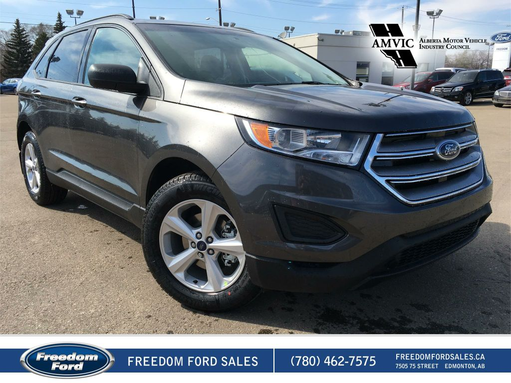 new 2017 ford edge se 4 door sport utility in edmonton 17ed0396 freedom ford. Black Bedroom Furniture Sets. Home Design Ideas