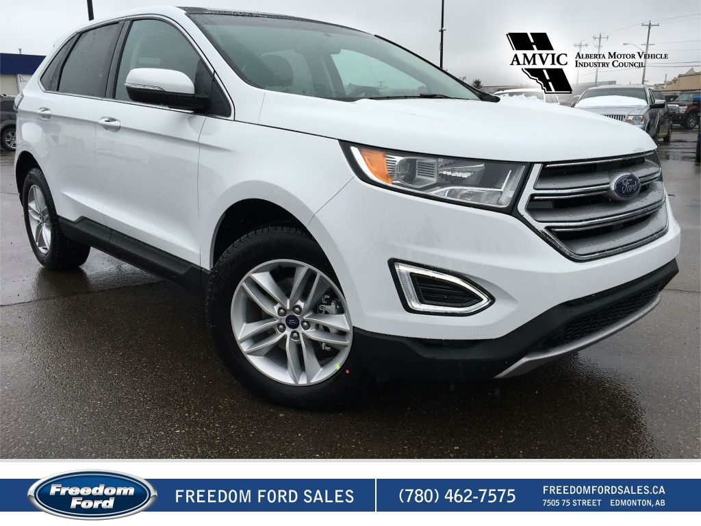 new 2017 ford edge sel 4 door sport utility in edmonton 17ed2485 freedom ford. Black Bedroom Furniture Sets. Home Design Ideas
