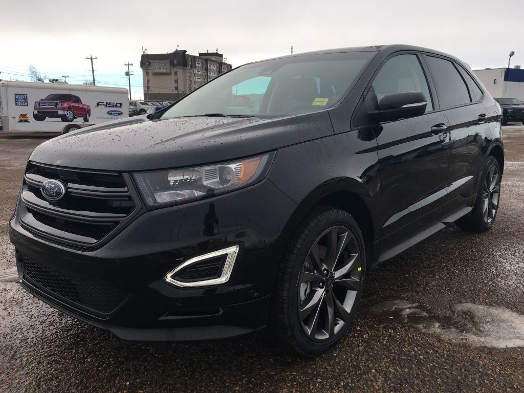 new 2017 ford edge sport demo deal 4 door sport utility in edmonton 17ed8547 freedom ford. Black Bedroom Furniture Sets. Home Design Ideas
