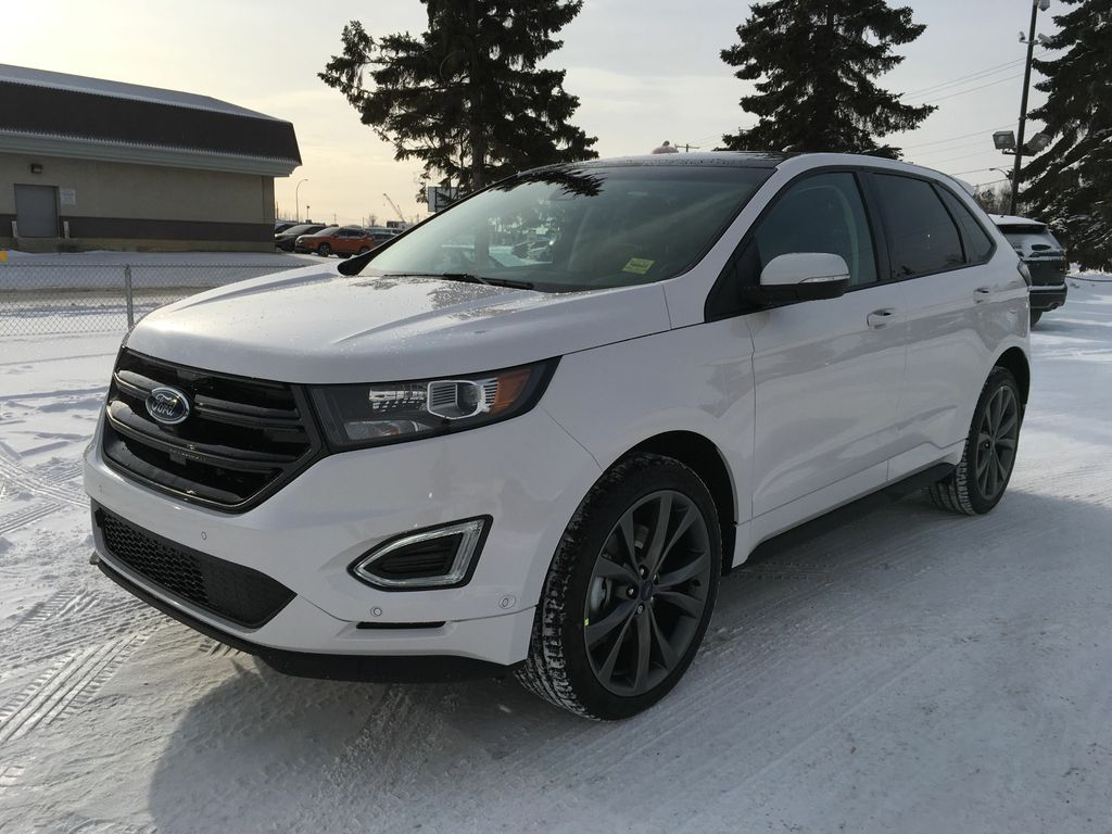 new 2018 ford edge sport 4 door sport utility in edmonton 18ed6210 freedom ford. Black Bedroom Furniture Sets. Home Design Ideas