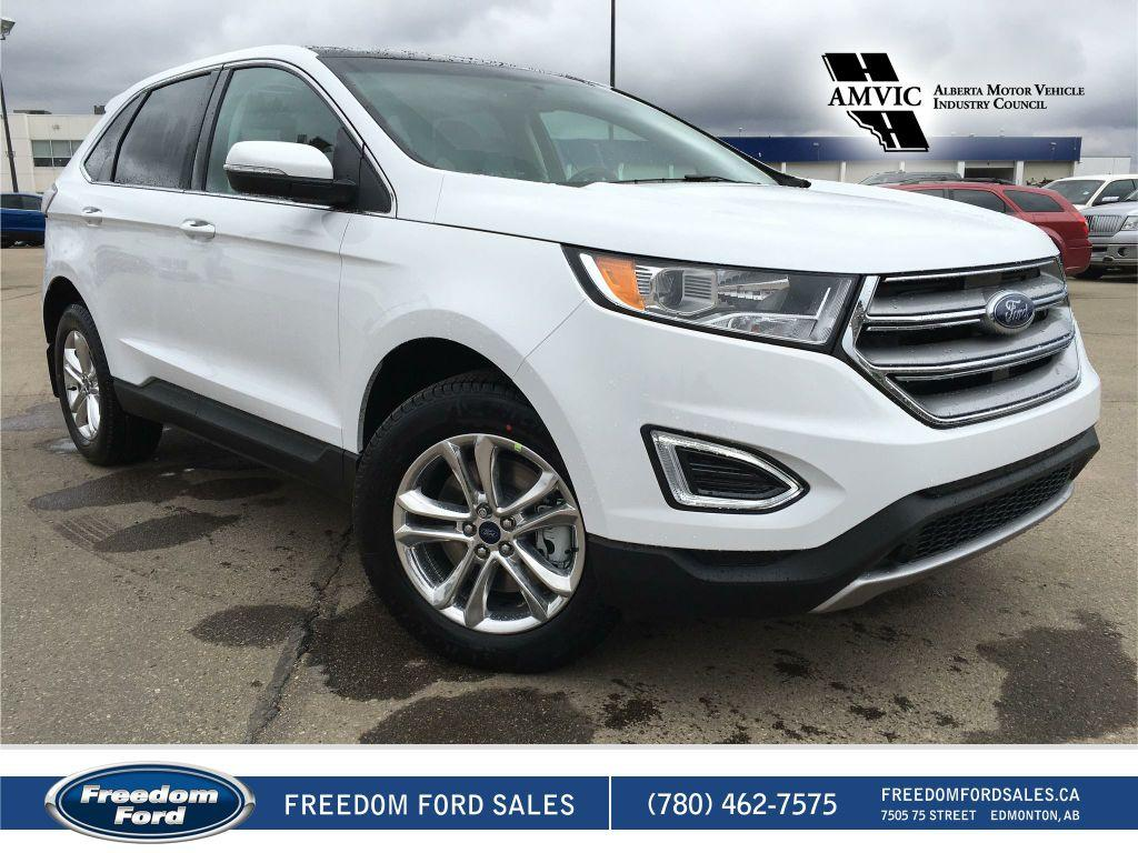 new 2017 ford edge sel 4 door sport utility in edmonton 17ed2494 freedom ford. Black Bedroom Furniture Sets. Home Design Ideas
