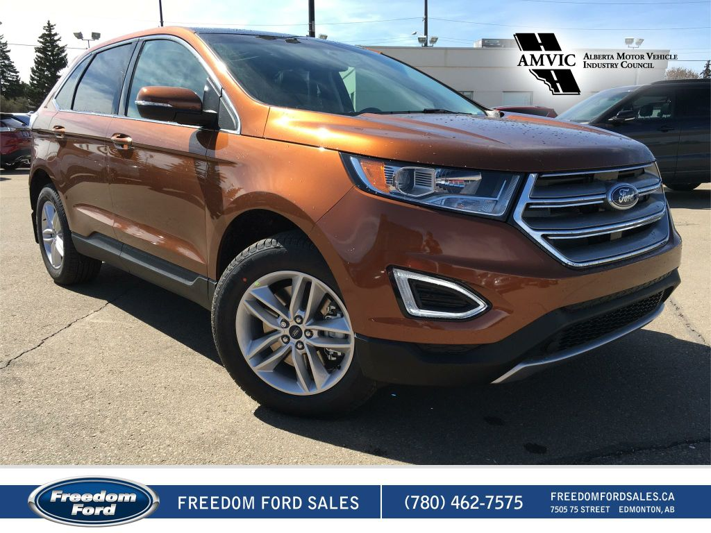 new 2017 ford edge sel 4 door sport utility in edmonton 17ed2490 freedom ford. Black Bedroom Furniture Sets. Home Design Ideas