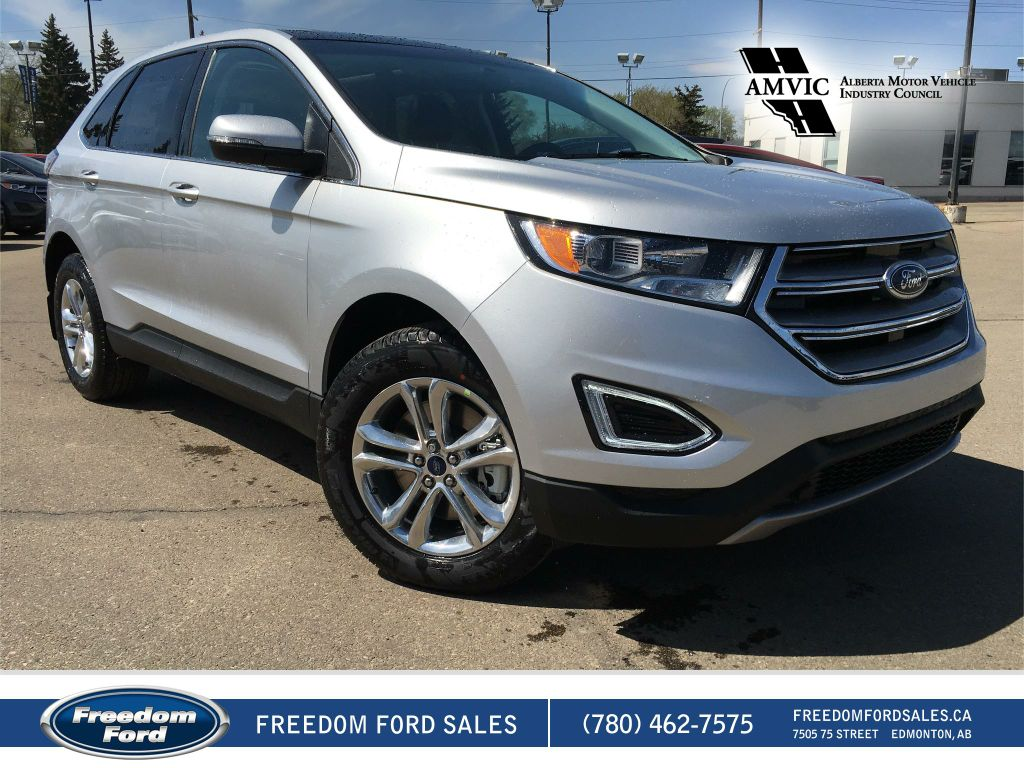 new 2017 ford edge sel 4 door sport utility in edmonton 17ed2488 freedom ford. Black Bedroom Furniture Sets. Home Design Ideas