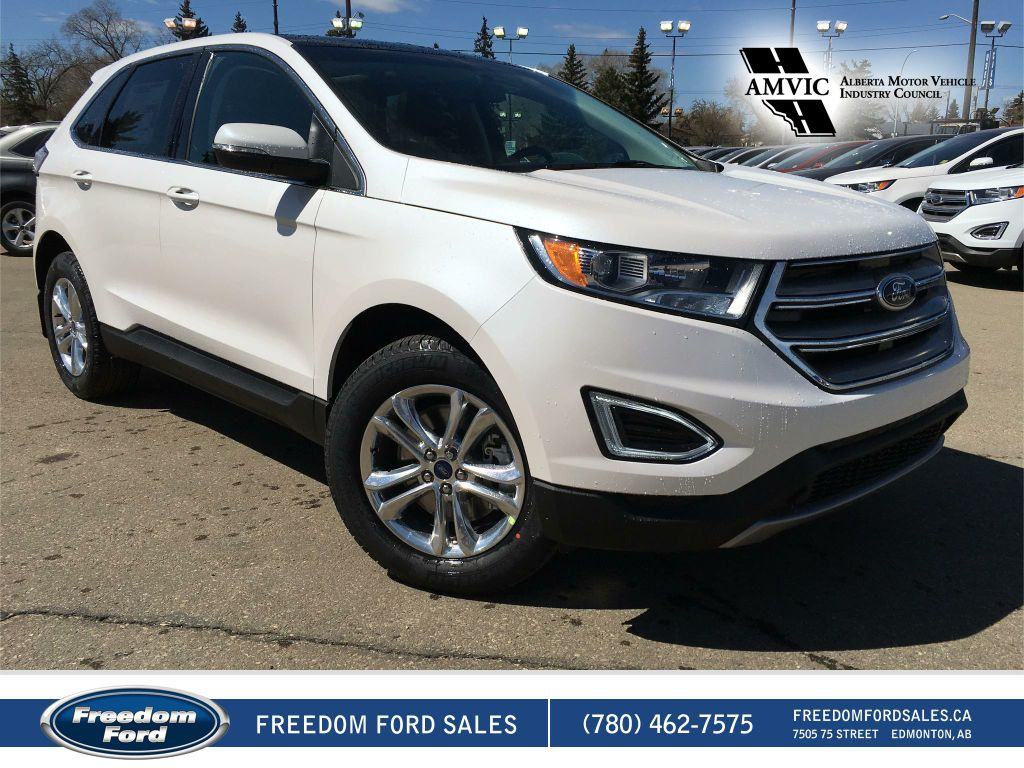 new 2017 ford edge sel 4 door sport utility in edmonton 17ed2489 freedom ford. Black Bedroom Furniture Sets. Home Design Ideas