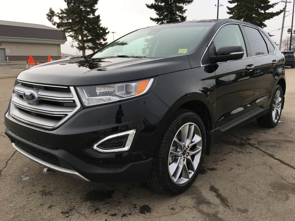 new 2017 ford edge titanium 4 door sport utility in edmonton 17ed5642 freedom ford. Black Bedroom Furniture Sets. Home Design Ideas