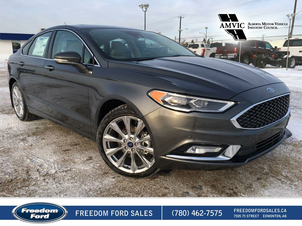 new 2017 ford fusion platinum 4 door car in edmonton. Black Bedroom Furniture Sets. Home Design Ideas